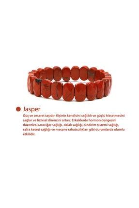 OSMANLI DOĞAL TAŞ Jasper Rolex Bileklik 0