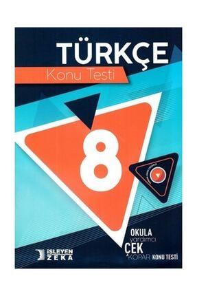 İşleyen Zeka Yayınları 8. Sınıf Türkçe Konu Testi 0
