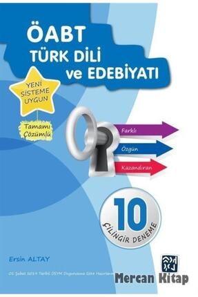 Kutlu Yayınevi Öabt Türk Dili Ve Edebiyatı 10 Çilingir Deneme 0