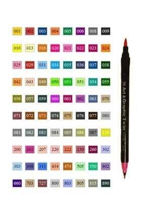 Zig Art & Graphic Twin Marker Çizim Kalemi 308 Cornflour Blue 0
