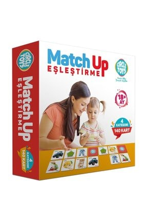 Altıngöz Oyuncak Match Up 140 Adet Eşleştirme Kartları 0