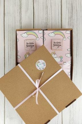 Doğum Günü Sepetim 32 Adet Bebek Çikolatası - Hediyelik Madlen Çikolata Unicorn 3