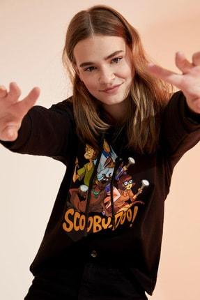 Defacto Scooby-doo Lisanslı Kapüşonlu Sweatshirt 2