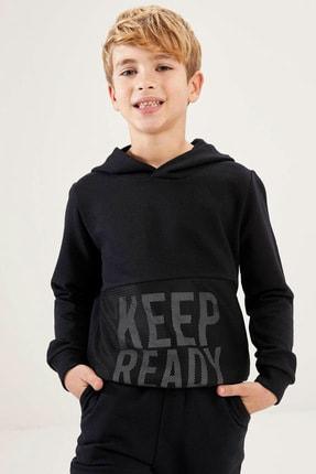 Defacto Erkek Çocuk Baskılı Sweatshirt 0