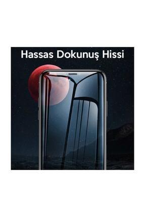 Baseus Iphone 11 Pro- X-xs 0.3mm Ful Tempered Anti Blue Light Ekran Koruyucu 2 Adet Set Şeffaf 3