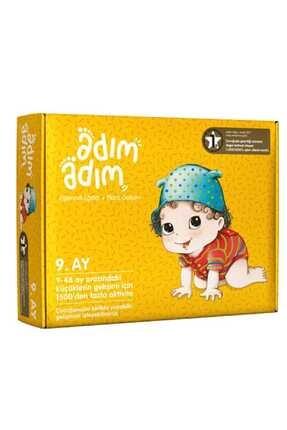 Adım Adım Yayınları Adım Adım Bebek Eğitim Seti 9.ay 0