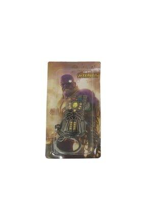 AlpCollection Avengers Yenilmezler Marvel Thanos Eldiven Metal Anahtarlık 3