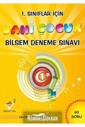 Altın Nokta Basım Yayın - Kaynak Kitaplar Dahi Çocuk-1.sınıflar Için Bilsem D 0