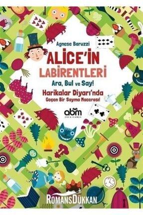 Abm Yayınevi Alice'in Labirentleri-ara Bul Ve Say-harikalar Diyarı'nda Geçen Bir Sayma Macerası! 0