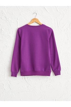 LC Waikiki Kadın Mor Sweatshirt 0WBB54Z8 1