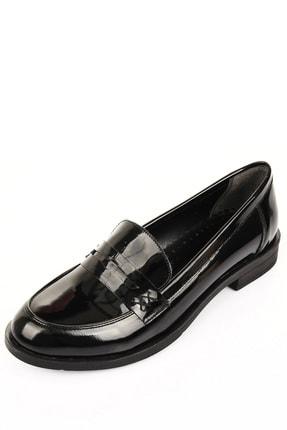 GÖNDERİ(R) Siyah Rugan Kadın Günlük (Casual) Ayakkabı 37102 2