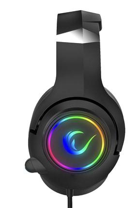 Rampage Rm-k68 Scorpy Siyah Usb 7.1 Surround Rgb Işık Efektli Gaming Oyuncu Mikrofonlu Kulaklık 2