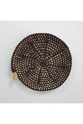 Limenis Afrika Etnik Üçlü Hasır Tabak Seti Bohem Afrikan Sepeti Duvar Dekoru 3