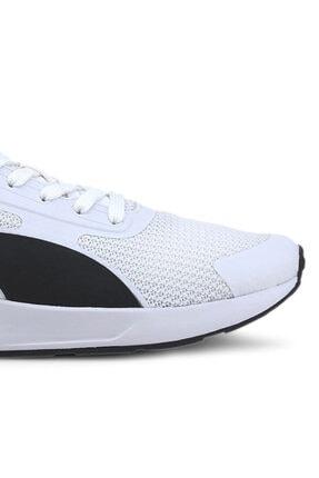 Puma TAPER Beyaz Erkek Koşu Ayakkabısı 100654887 3