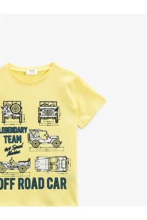Koton Erkek Çocuk Sarı T-Shirt 2