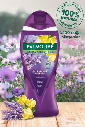 Palmolive Aroma Sensations So Relaxed Aromatik Banyo ve Duş Jeli 500 ml x 2 Adet + Duş Lifi Hediye 1