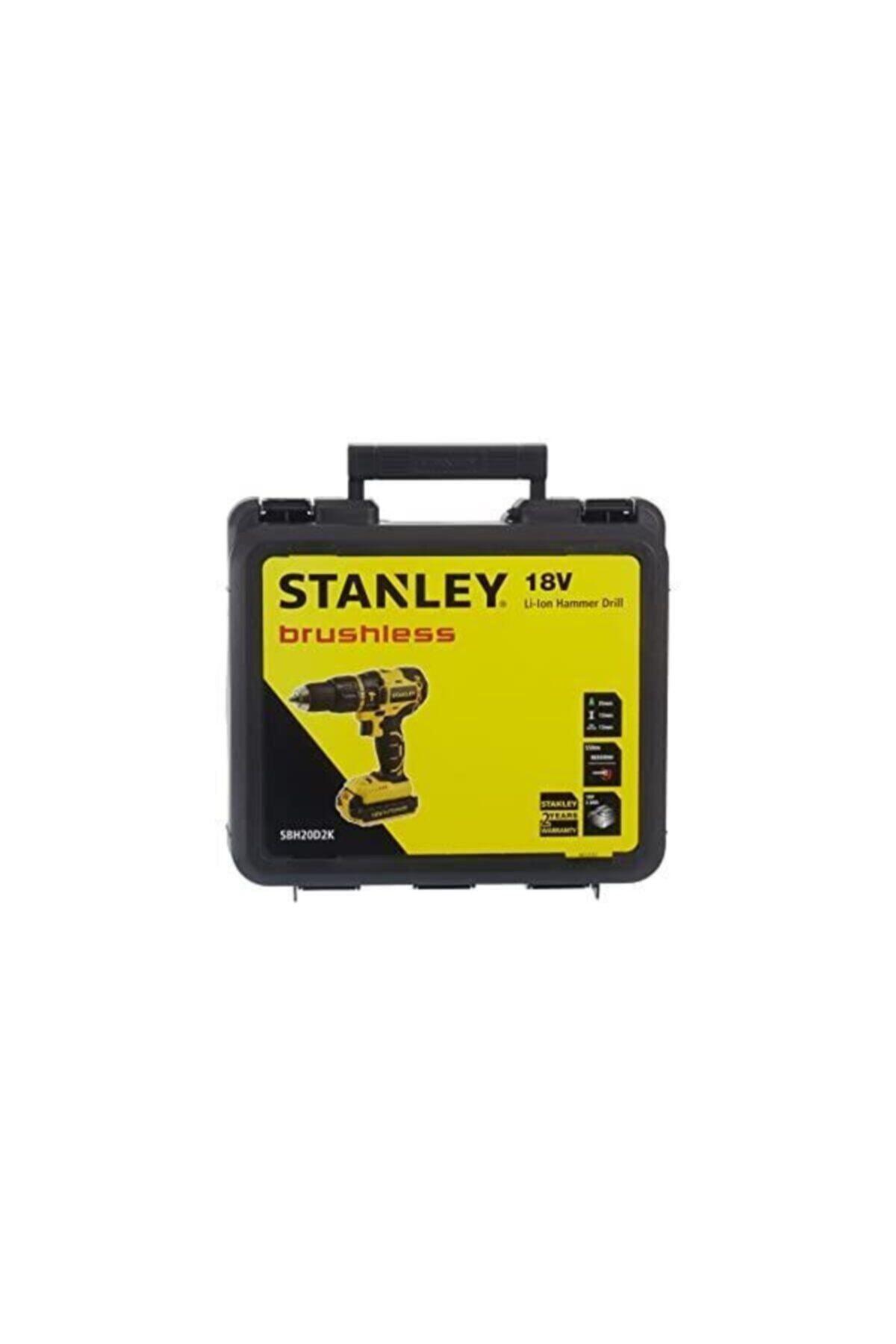 Stanley Sbh20d2k 18v Akülü Darbeli Matkap
