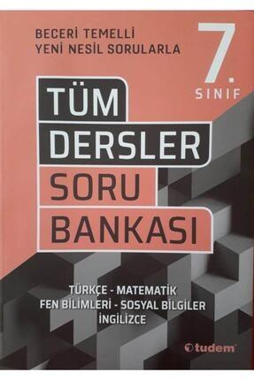 Tudem Yayınları 7. Sınıf Tüm Dersler Beceri Temelli Soru Bankası 0