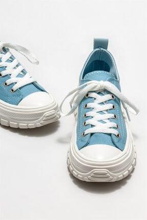 Elle Kadın Mavi Spor Ayakkabı 2