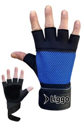Liggo Lifting Bilek Bandajlı Ağırlık Eldiveni 0