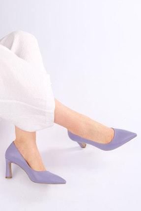 Marjin Kadın LİLA Stiletto Topuklu Ayakkabı Akuna 2