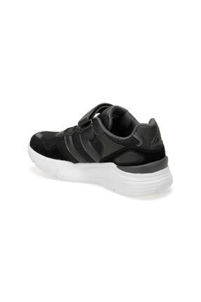 Kinetix Santa J Erkek Çocuk Cırtlı Yüksek Taban Spor Ayakkabı Siyah 2