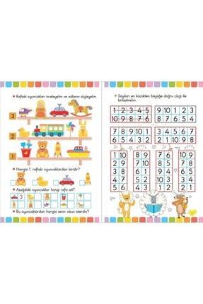 Ya-Pa Yayınları 4 - 5 - 6 Yaş Matematik & Kodlama Çalışması Etkinlik Seti 10 Kitap 2