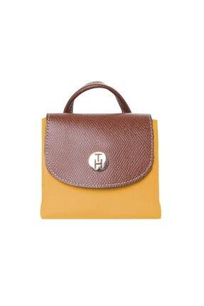 TH Bags Kadın / Kız Sırt Çantası Th25300 Hardal 4
