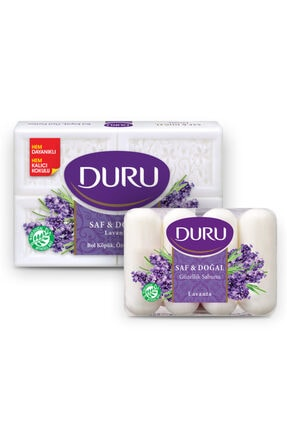 Duru Kalıp Sabun Saf Doğal Lavanta 600gr Ve Güzellik Sabunu Lavanta 280gr 0