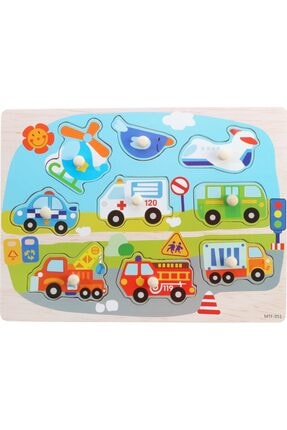 TOYS&TOYS Ahşap Eşleştirmeli Bultak&yapboz Çocuk Eğitimi 4