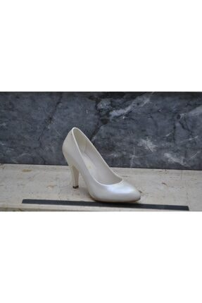 Kadın Gri Topuklu Ayakkabı 809423657208915
