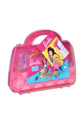 Fen Toys Barbıe Güzellik Çantası Ve Çilek Makyaj Set 0