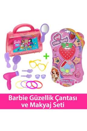 Fen Toys Barbıe Güzellik Çantası Ve Çilek Makyaj Set 1