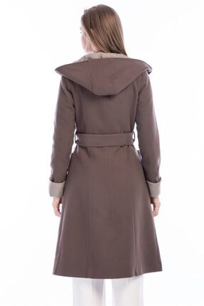 Dewberry Kadın Vizon Palto 1
