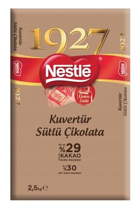 Nestle 1927 Sütlü Kuvertür Çikolata 2.5 Kg 0