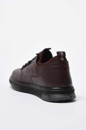 Hotiç Hakiki Deri Erkek Kahve Sneaker 02AYH201040A480 2