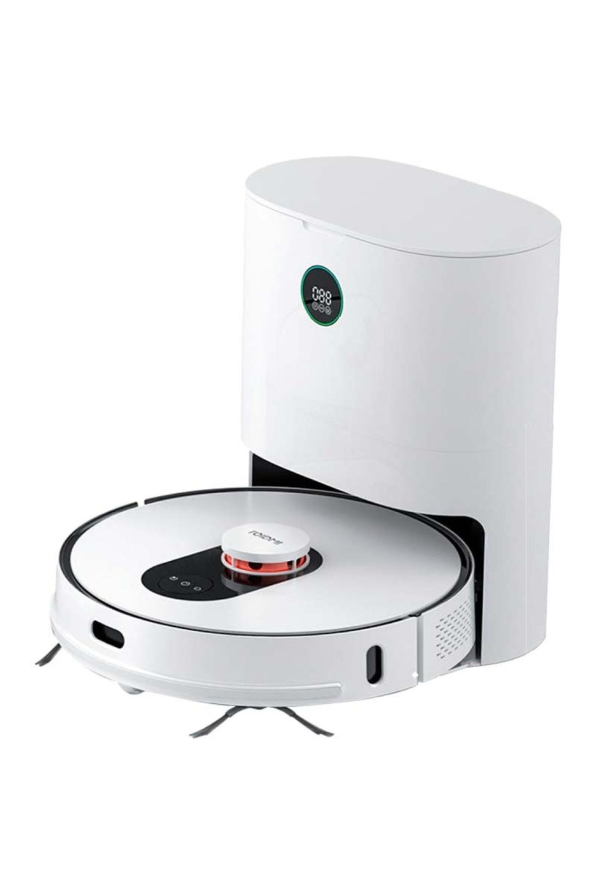Eve Plus Akıllı Çöp İstasyonlu Robot Vacuum & Mop Süpürge (Roidmi Türkiye Garantili)