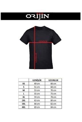 Orijin Tekstil Unisex Siyah Queen Logo Freddie Mercury Baskılı Tshirt 1