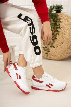 Moda Değirmeni Kadın Beyaz Sneaker Md1053-101-0001 1