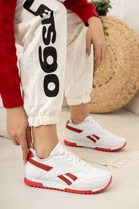 Moda Değirmeni Kadın Beyaz Sneaker Md1053-101-0001 2