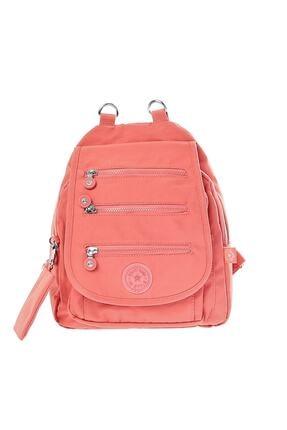 Smart Bags Kadın Somon Çanta 0