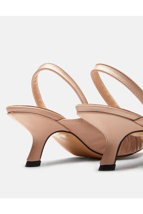 Jorbinol Kadın Bej Baye Ayakkabı 2