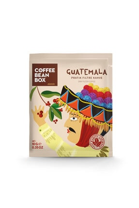 Coffeebeanbox Pratik Filtre Kahve Guatemala 10'lu Kutu 1