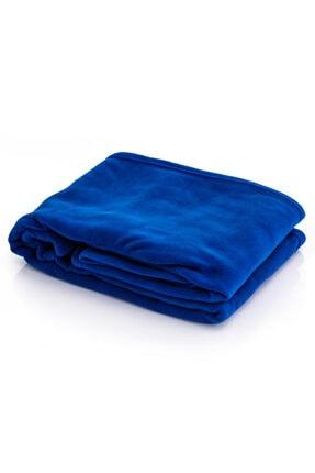 Hediyesepeti Giyilebilir Kollu Mavi Polar Battaniye 2
