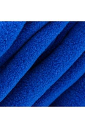Hediyesepeti Giyilebilir Kollu Mavi Polar Battaniye 3