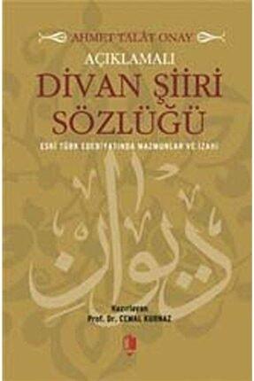 Kurgan Edebiyat Açıklamalı Divan Şiiri Sözlüğü & Eski Türk Edebiyatında Mazmunlar Ve Izahı 0