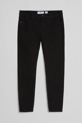 Bershka Kadın Siyah Super Skinny Fit Jean 1