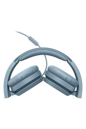 Philips Mavi Kablolu Kulak Üstü Kulaklık Tah4105 2