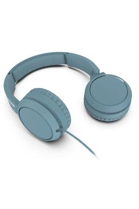 Philips Mavi Kablolu Kulak Üstü Kulaklık Tah4105 4