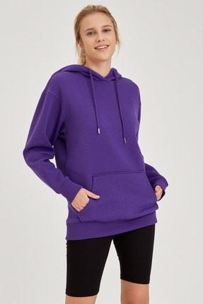 Defacto Kapüşonlu Regular Fit Sweatshirt 0